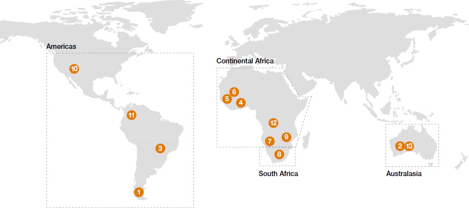 Worldwide exploration [map]