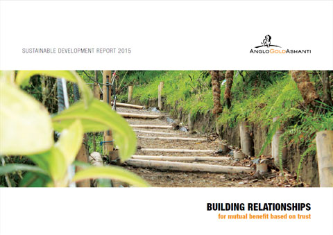 Interactive report cover